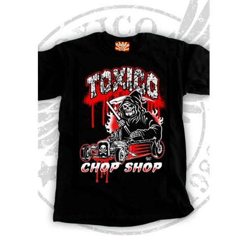 CAMISETA CHOP SHOP