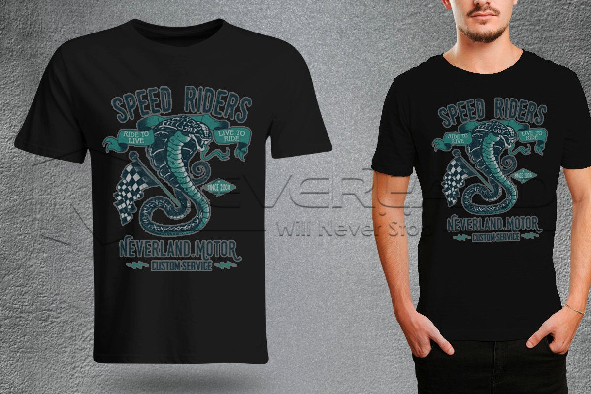 CAMISETA SPEED RIDER