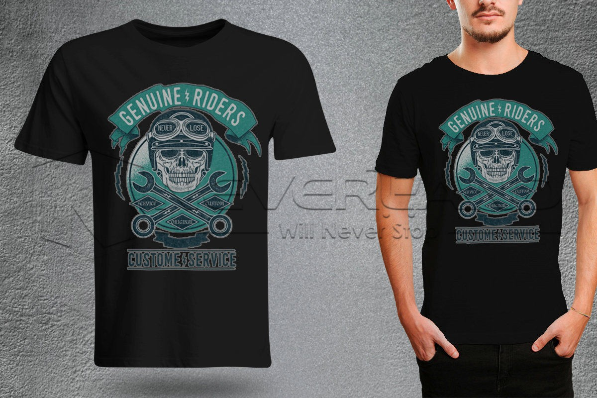 CAMISETA GENUINE RIDERS