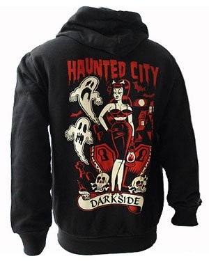 CHAQUETA HAUNTED CITY
