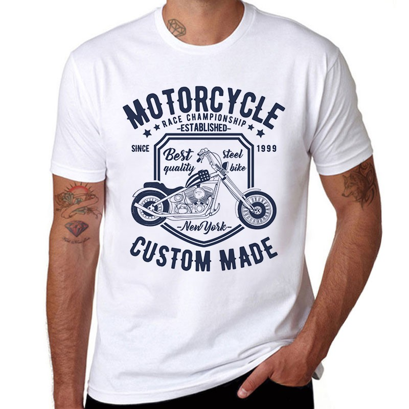 CAMISETA MOTORCYCLE CUSTOM MADE
