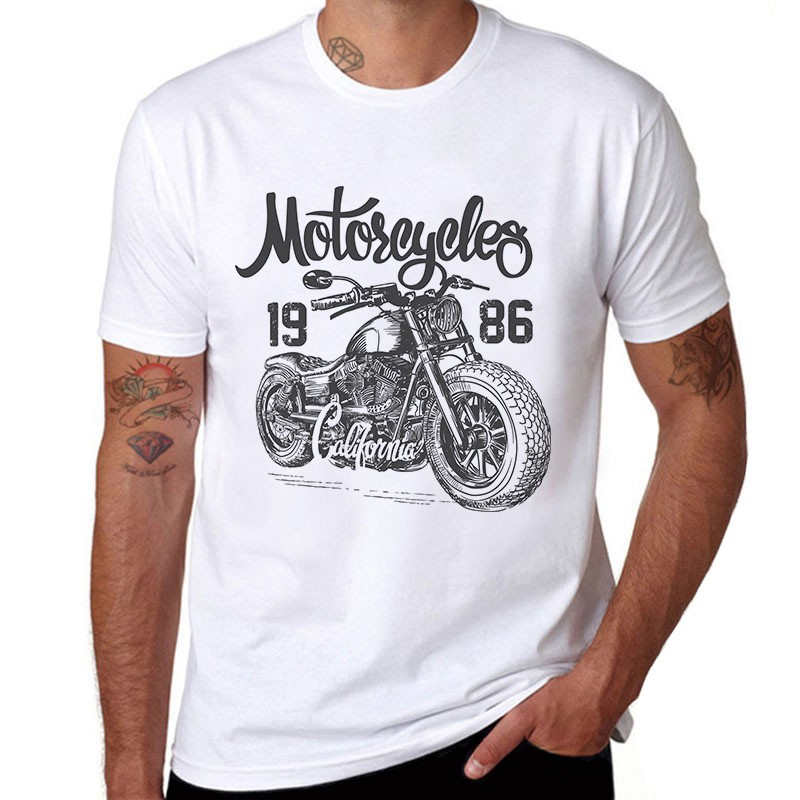 CAMISETA MOTORCYCLE 1986